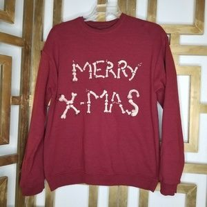 OOAK Ugly Christmas Penis Sweater Merry Xmas Funny